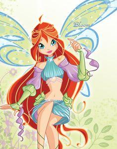 Bloom sophix by fantazyme.deviantart.com #WinxClub