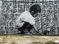 Une sélection des superbes créations street art de l'artiste américain El Mac, basé à Los Angeles. De magnifiques et gigantesques portraits que l'artiste dissémine à travers le monde, du Canada à la Suisse en passant par le Mexique, la Suède, l'Italie, le Vietnam ou la Malaisie.