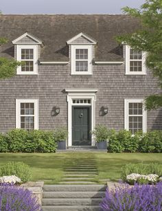 newport beach: coastal shingle style homes Nantucket Home, Nantucket Style, Nantucket Massachusetts, New England Homes, New England Style, Beach Cottage Style, Coastal Cottage, Beach House, Newport Beach