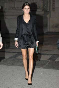 Olivia Palermo. Paris fashion week