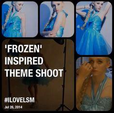 Frozen themed shoot @lsm