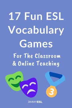 18 Fun ESL Vocabulary Games for Adults and Kids | JIMMYESL
