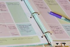 "Free Downloadable Planner @Caroline Benedyk Hamilton, you are too cute with your ""attempt to organize"""