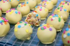 Funfetti Cake Balls - I hope these are as tasty as they are cute!