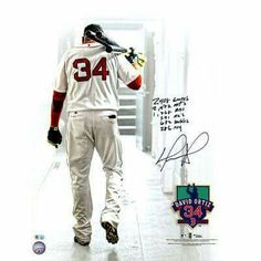 David Ortiz Boston Red Sox Fanatics Authentic Autographed x Walking out of Tunnel Photograph with Career Stat Inscriptions Red Sox Baseball, Better Baseball, Boston Baseball, Baseball Art, Boston Sports, Boston Red Sox, David Ortiz, Red Sox Nation, Caricatures