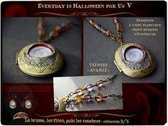 """Anamnesis Syndrome - Troisième collection des 11 Artistes d'Everyday is Halloween for Us, sur le thème """"la brume, les flots, puis les ténèbres..."""" Toutes les infos en cliquant sur l'image!"""