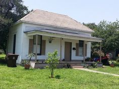 For sale: $35,000. There is a certain charm to this 1940's home. 2/1,  800sf with oversized lot with huge fenced in back yard. Front porch, high ceiling, built-ins, central air, painted wood flooring. Needs some love! Close to college. For Sale As-Is Cash offers only. ARV - $65K Rehab $10-15K Rents $800-900