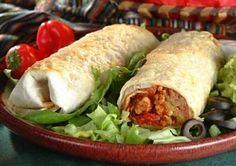 Simplify your evening by preparing this hefty burrito, stuffed with all the fixings. www.ortega.com