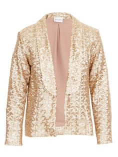 Cocktail blazer with sequins