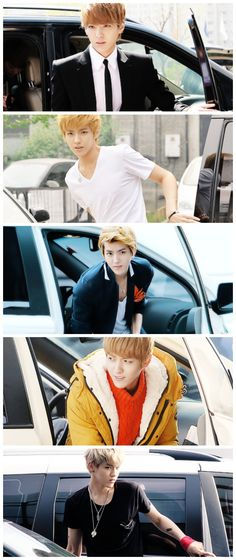 can anybody look hotter getting out of a car? nope, i think Kris wins this one (¬‿¬) #EXO