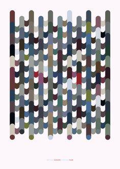 Color palette of Reykjavík by Geir Olafsson, via Behance