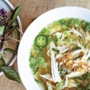 Toasted Tortilla Soup With Fresh Cheese And Chile Pasilla | The Splendid Table