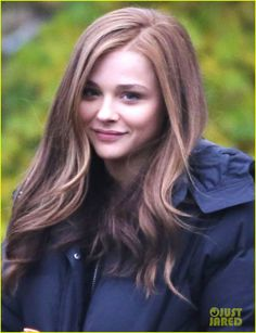 Chloe Grace Moretz! My favorite actress :) Loved 'if i stay' and 'the equalizer'