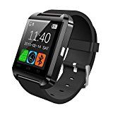 Digihubs U8 Bluetooth Smart Watch Phone. Wireless Connectivity BT Camera. Receive Notifications from Facebook Whatsapp QQ WeChat Twitter Fitness & Activity Tracker Time Schedule Read Message or News Sports Health Pedometer Sedentary Remind & Sleep Monitoring. Digital Touch Screen Display Loud Speaker Mic & Multi-Language Support. Compatible with Tablet PC & iOS Android