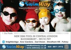 Central London Swimming Lessons in Bloomsbury – WC1E 7HY Jun 26th - Oct 24th