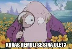 I post everything related to Finnish childhood (mainly cartoons). Now I make mostly moomin memes and gifs. I post in Finnish and in English depending on my mood and how much effort I want to put to improve my English skills. LOL :D Cool Pictures, Funny Pictures, Bad Girl Wallpaper, Tove Jansson, Moomin, Sarcastic Humor, Fun Facts, Haha, Pikachu