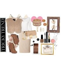 """pink autumn ."" by agfs on Polyvore"