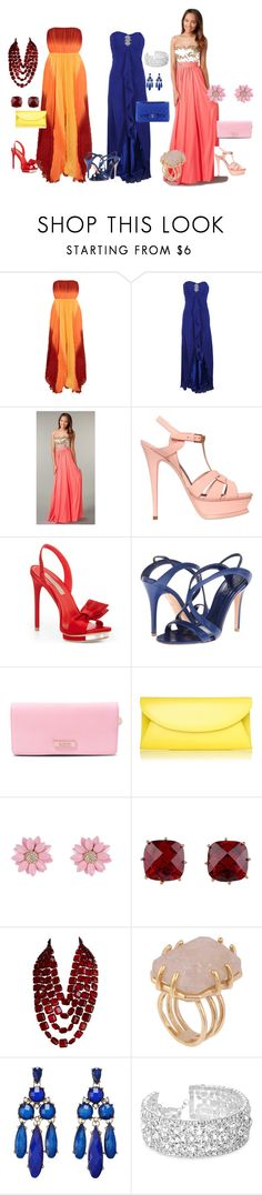 """""""la donna a pera"""" by giovanna-giovanna ❤ liked on Polyvore featuring Alice + Olivia, Yves Saint Laurent, BCBGMAXAZRIA, Alexander McQueen, DKNY, Chanel, L.K.Bennett, Les Néréides, Kelly Wearstler and Sparkling Sage"""
