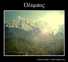Mount Olympos, Greece - photo by http://ldahakl.deviantart.com/art/Mount-Olympus-64310966