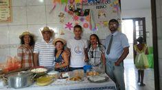 Festa junina no lar Calábria