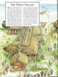 Viking Village, Brighton And Hove, Vikings, Vintage World Maps, Painting, Art, The Vikings, Art Background, Painting Art