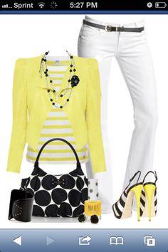 Pretty in yellow!