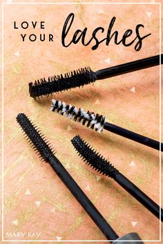 Our many (magic) wands! From sultry and dramatic to a more natural makeup look, we've got the lash product that's right for you! | Mary Kay