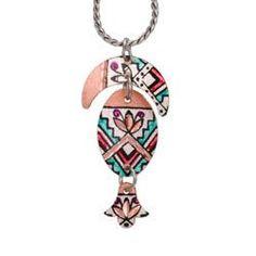 Native Design Rainbow Necklace