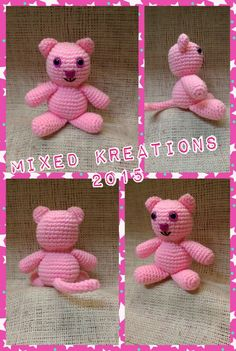 Pink kitty pattern from melissas crochet patterns