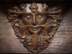 Norwich Cathedral Green Man