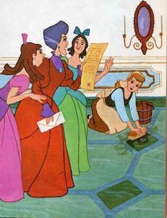 Cinderella Invitation to the Ball Lovely Anastasia Lady Tremaine Drizella & Cinderella Walt Disney, Cinderella Disney, Disney Dream, Disney Girls, Disney Love, Disney Magic, Disney Pixar, Cinderella Theme, Disney Stuff