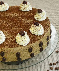 Tort makowo - kawowy Tiramisu, Food And Drink, Polish, Ethnic Recipes, Vitreous Enamel, Tiramisu Cake, Nail, Nail Polish, Nail Polish Colors