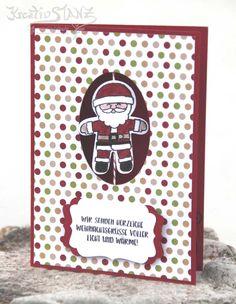 Weihnachten Christmas Stampin' Up! KreativStanz Ausgestochen weihnachtlich Stanze Lebkuchenmännchen Cookie Cutter Christmas