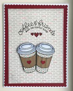 Mocha Frap Scrapper: Coffee & Friends