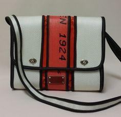 Schultertasche Messengerbag  Tasche  feuerwehrschlauch von mabreser