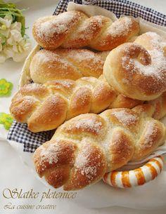 Slatke pletenice/Sweet pastry