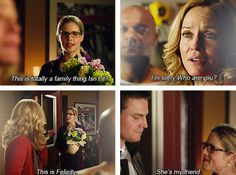 Arrow - Oliver & Felicity #Season1 #Olicity