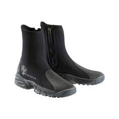 Akona 6mm Deluxe Heavy Duty Molded Sole Zipper Dive Boots .., Akona, 6mm Deluxe Heavy Duty Molded Sole Zipper Dive Boots .., AKBT161, Boots, Cold Water with reviews at scuba.com      SIZE 9