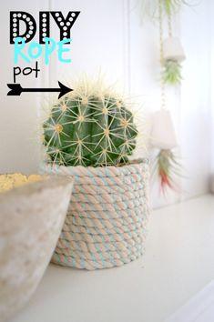 DIY Rope Pot