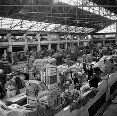 Mercado da Ribeira. Lisboa, década de 50.
