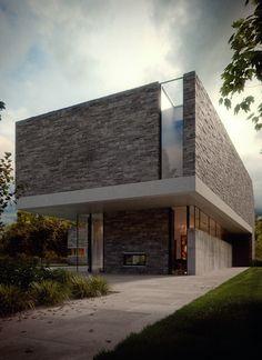 House M Visualization by Bertrand Benoit - Ronen Bekerman 3d architectural visualization blog