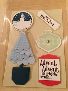 "Heikes Kreativseite: Card Candys zum Thema "" Weihnachten "" Advent, Candy Cards, Junk Art, Scrap, Journal, Tags, Halloween, Simple, Christmas"