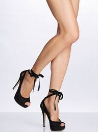 when all u want to wear is just this amazing  high heals <3