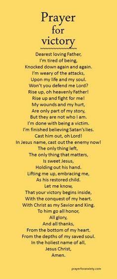 Prayer for Victory