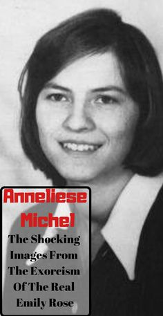 The final exorcism of Anneliese Michel, the real-life Emily Rose, ended in the death inside her home in Germany in Anneliese Michel, Demon Possession, Paranormal Stories, Emily Rose, Spooky Scary, Thriller, Catholic, Eve, Journaling