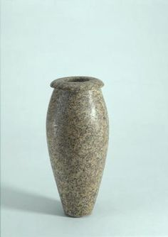 Tall Vase. Egypt. Predynastic, c. 3000 BC. Diorite. h 21.6 x w 10 x d 10 cm. Acquired 1990. Robert and Lisa Sainsbury Collection. UEA 1023. www.scva.ac.uk