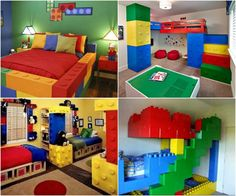 Lego themed room.