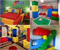Lego themed room.