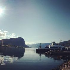 The sunny Lysefjord, Norway