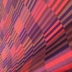 MARIMEKKO Fabric Hirsi Purple 3 yards Finnish Cotton Fujiwo Ishimoto Design #Marimekko
